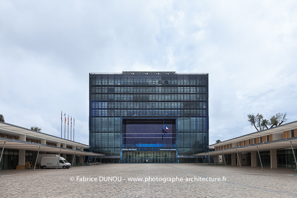 H tel de ville de montpellier by jean nouvel et fran ois font s photographe - Hotel de ville montpellier jean nouvel ...